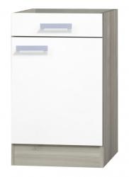 OPTIFIT Unterschrank »Genf« ohne Arbeitsplatte, weiß, Breite 50 cm