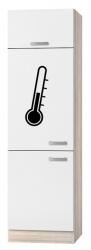 OPTIFIT Maxi-Kühlumbauschrank »Genf«, weiß, Breite 60 cm