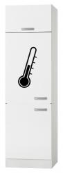 OPTIFIT Maxi-Kühlumbauschrank »Oslo«, weiß, Breite 60 cm
