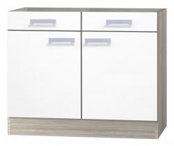 OPTIFIT Unterschrank ohne Arbeitsplatte »Genf«, weiß, Breite 100 cm