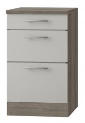 OPTIFIT Schubladen-Unterschrank »Arta«, beige Seidenglanz, Breite 50 cm