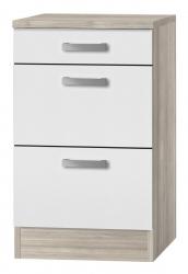 OPTIFIT Schubladen-Unterschrank »Genf«, weiß, Breite 50 cm
