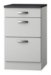 OPTIFIT Schubladen-Unterschrank »Lagos«, weiß Seidenglanz, Breite 50 cm