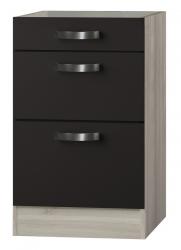 OPTIFIT Schubladen-Unterschrank ohne Arbeitsplatte »Faro«, grau, Breite 50 cm
