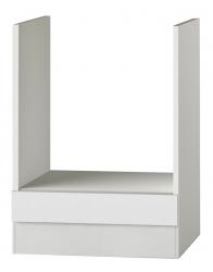 OPTIFIT Herdumbauschrank ohne Arbeitsplatte »Oslo«, weiß, Breite 60 cm