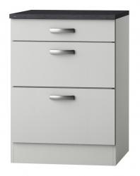 OPTIFIT Schubladen-Unterschrank »Lagos«, weiß Seidenglanz, Breite 60 cm
