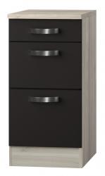 OPTIFIT Schubladen-Unterschrank »Faro«, grau, Breite 40 cm