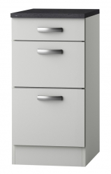 OPTIFIT Schubladen-Unterschrank »Lagos«, weiß Seidenglanz, Breite 40 cm