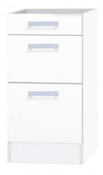 OPTIFIT Schubladen-Unterschrank »Oslo« ohne Arbeitsplatte, weiß, Breite 40 cm